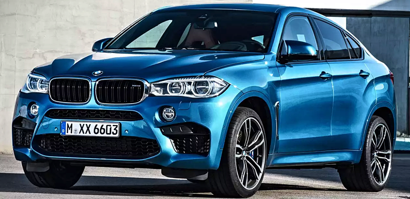 BMW  X6 M 0-60 in 3.95 Seconds