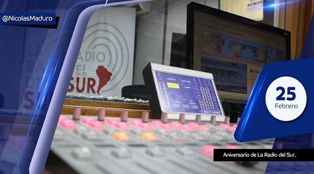 La Radio del Sur celebra 11 años de la batalla comunicacional
