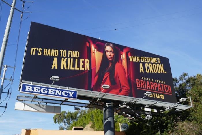 Briarpatch series launch billboard