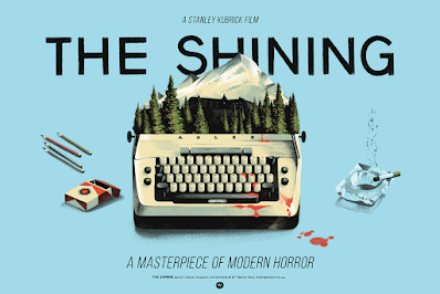 The Shining Screen Print by Lyndon Willoughby x Bottleneck Gallery
