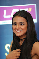 Actress Shraddha Srinath Stills in Black Short Dress at SIIMA Short Film Awards 2017 .COM 0089.JPG
