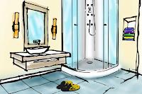 Castiga o cabina de dus si reamenajarea spatiului din baie