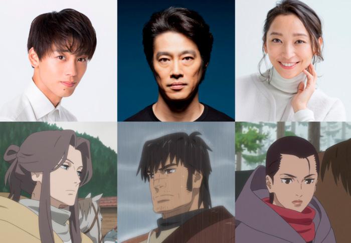 The Deer King (Shika no Ou) anime film - Masashi Ando - personajes