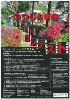 Owani Town Azalea Photo Contest 2016 poster 平成28年つつじのまちフォトコンテスト ポスター 大鰐町 Tsutsuji no Machi