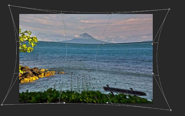 Cara Membuat Objek Gambar dan Foto Melengkung di Photoshop