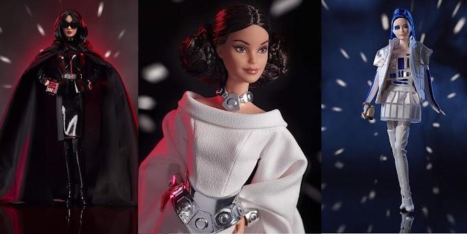 Mattel prepara su colección de Barbies basadas en Star Wars