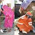 पीएम द्वारा गोद लिए गाँव में विकास खन्ना ने कराया बरसाती सैंडलों का वितरण