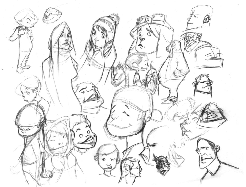 Ulgobang Amazing Cartoon Sketches