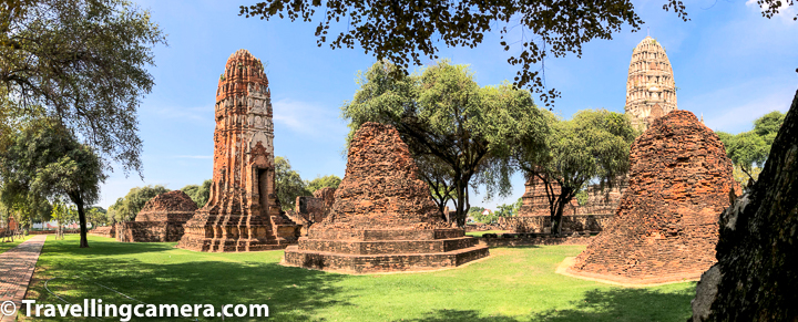 There are different dress codes for religious places like temples, mosques, churches etc, so we should also talk about dress code in Ayutthaya Temples :    Ayutthaya temples don't have a strict dress code like most other temples in Thailand, which is little surprising. They are treated more as historic sites rather than active temples and that's the reason for not having any dress code. Having said that I would still recommend it's important to dress appropriately if you intend to go to different temples. Worship happens in some of the temples so it can be an issue. Having said that, it's not a challenge in Wat Phra Si Sanphet.     Related Blog-post : Charming Thai-style Homestay, Authentic Thai food & Ayuthhaya Travel tips || 10-Day Vacation in Thailand (Day 3)     Thailand temples dress code guidelines : Most other temples in Thailand require your knees and shoulders to be covered (both males and females). You can still wear shorts or a dress, but just have a long scarf with you to wrap around your waist.      Related Blogpost - Temple on the Hill, Tribe in the forest, and more in Chiang Mai || 10-Day Vacation in Thailand (Day 2)