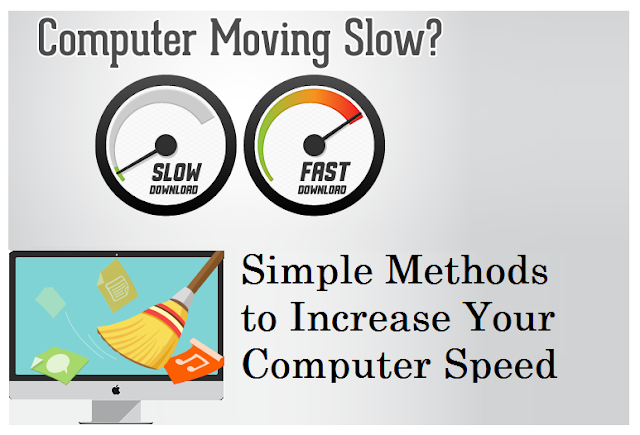 Increase the Speed of your PC Easily in 5 Steps: Simple Methods