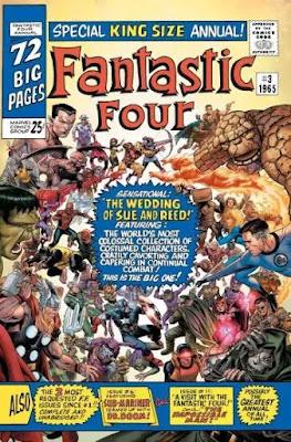 Marvel anuncia 'Fantastic Four Anniversary Tribute' # 1 para noviembre.