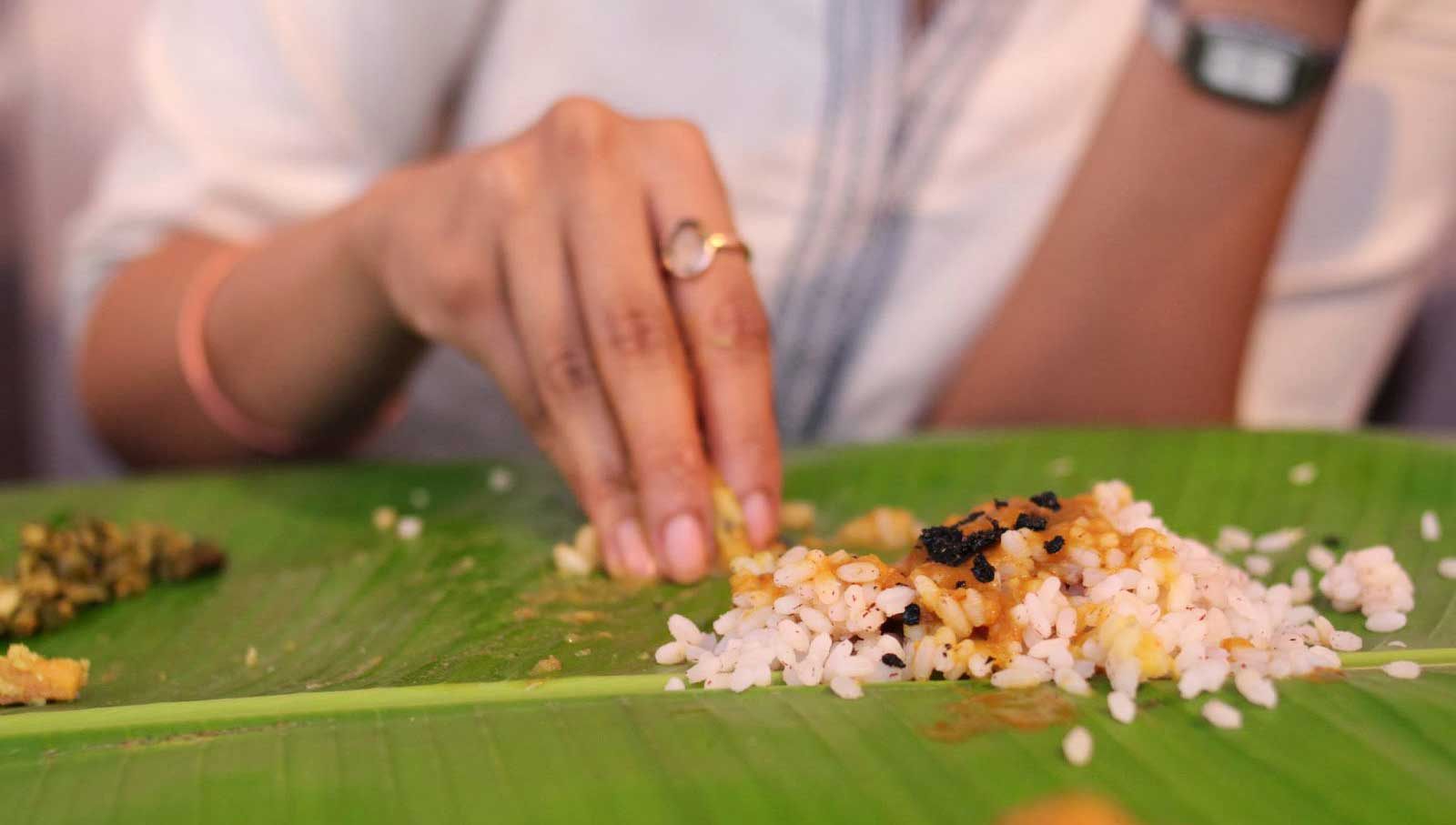 Avantages surprenants de manger avec vos mains