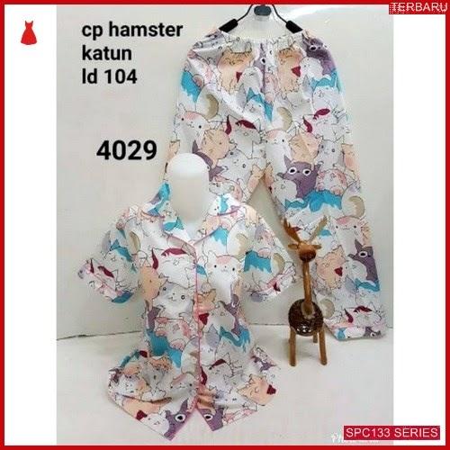 SPC133P46 Piyama Hamster Terbaru Baju Tidur Wanita | BMGShop