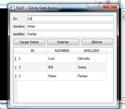 Ejemplos de interfaces gráficas realizadas con Python y PyQT5 - Mi