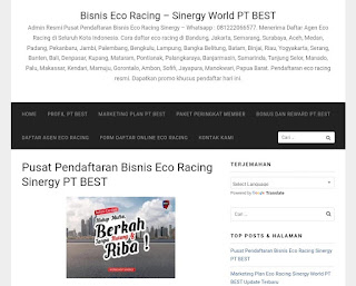 Review Profil Bisnis Eco Racing Produk Penghemat Bahan Bakar