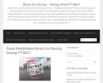 Review Profil Bisnis Eco Racing Produk Penghemat Bahan Bakar PT BEST Bandung Eco Sinergi Tekhnologi