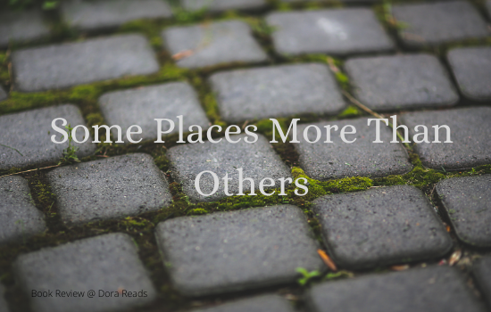 'Some Places More Than Others' on a background of paving
