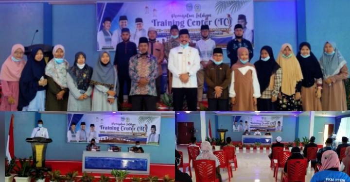 Sekda Asraf Buka Training Center Kafilah MTQ Kabupaten Kerinci
