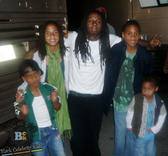 PICTURE BUGS: Lil Wayne Four Children With Four Different ...