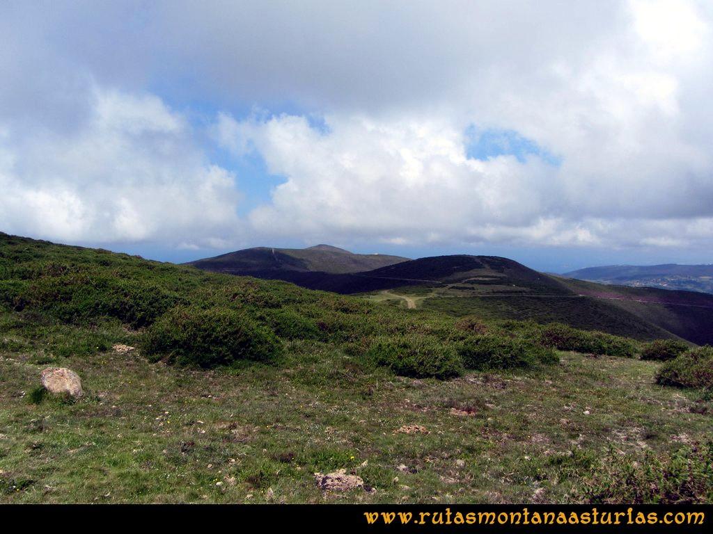 Ruta Llan de Cubel y Cueto: Vista del Llan de Cubel