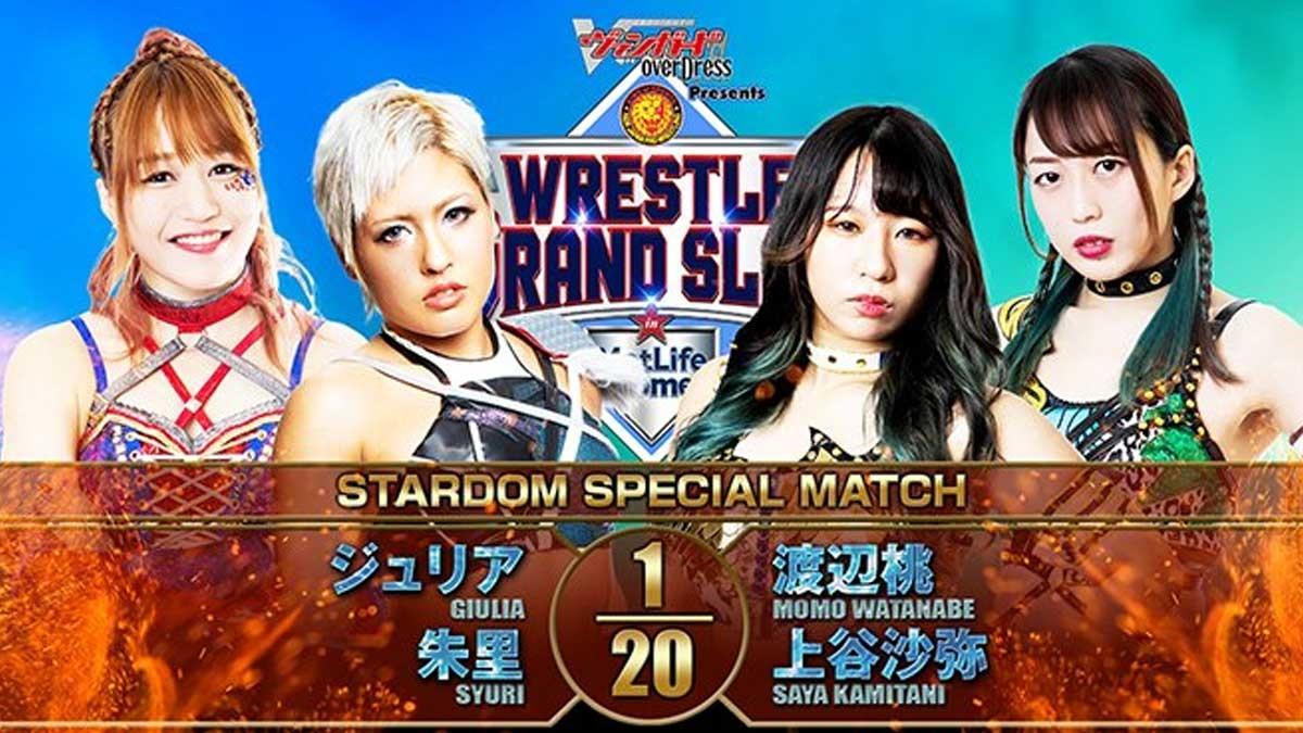Maika, Giulia e outras lutadoras estarão no NJPW Wrestle Grand Slam