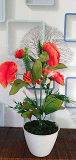 hiasan bunga di rumah