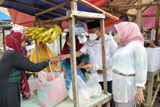 Pemkab Sergai Gelar Grebek Dahsyat Kerahkan Seribu ASN Belanja di 5 Pasar Rakyat