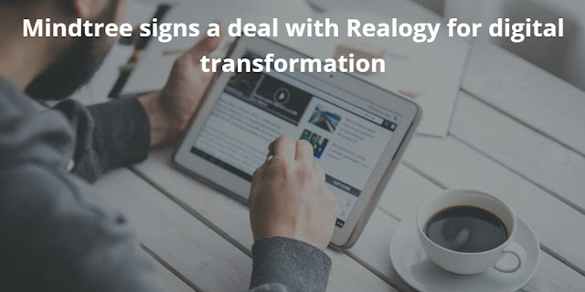 Mindtree signs a Deal with Realogy for its Digital Transformation