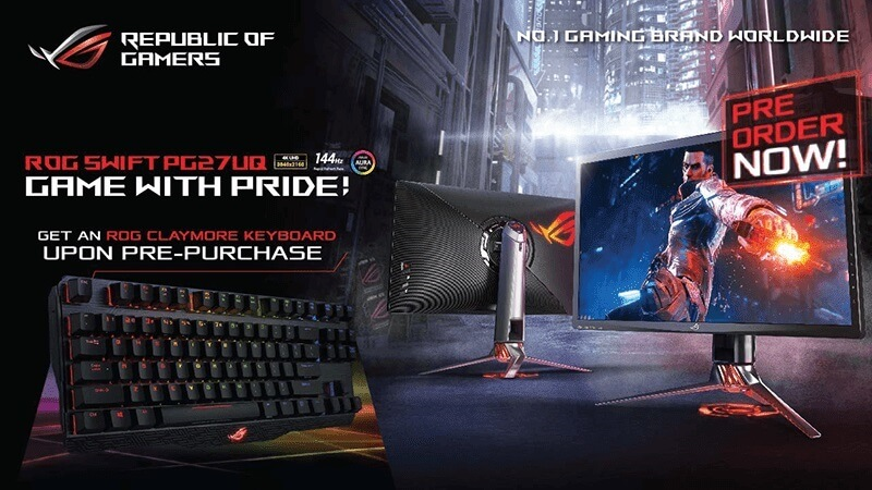 ASUS ROG Swift PG27UQ Now Up for Pre-order!