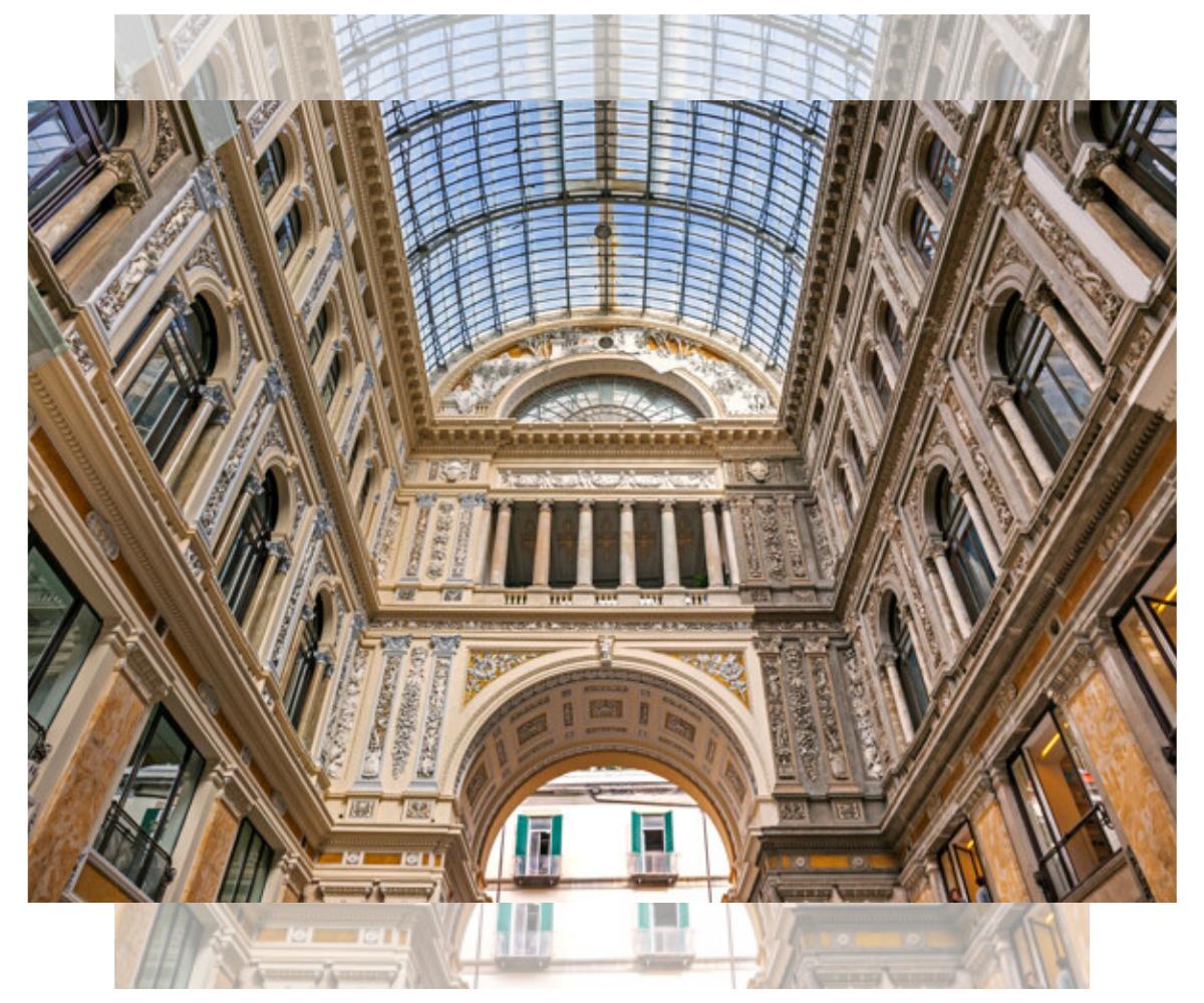 Galería Humberto I. Nápoles
