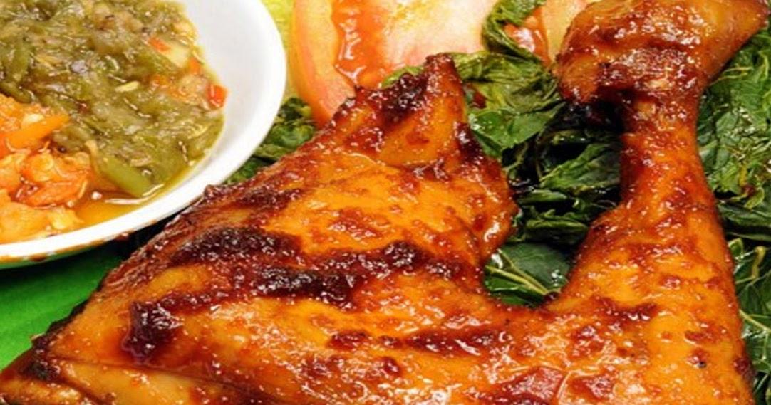 Resep Ayam Bakar Padang Minang - Surasmi G