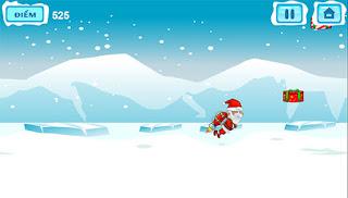 Jogo do Papai Noel voador HTML5 game grátis