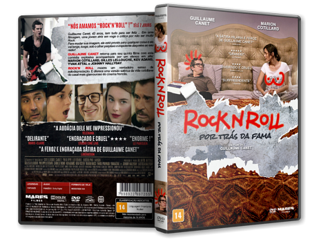 Capa DVD Rock N´Roll: Por Trás da Fama [Custom]