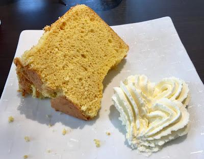 グランダイナーのシフォンケーキ
