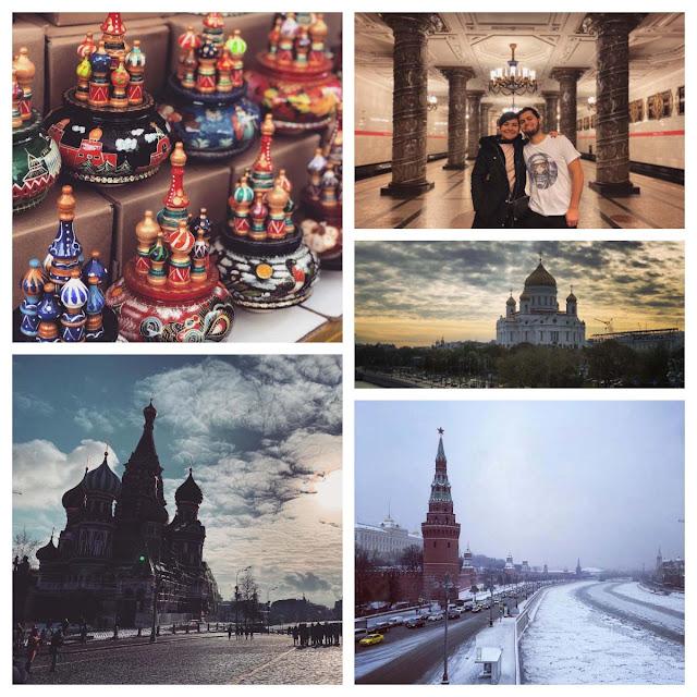 Guia de turismo em português na Rússia