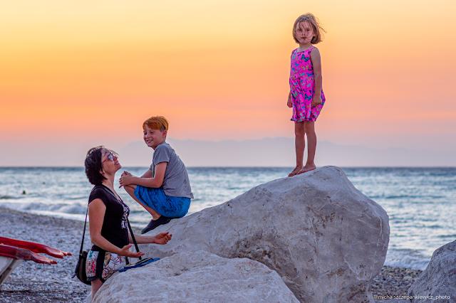 Kamieniste plaże Rodos