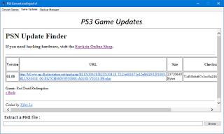 Ps3 Update Finder