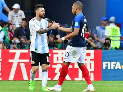 Rusia 2018: Francia - Argentina