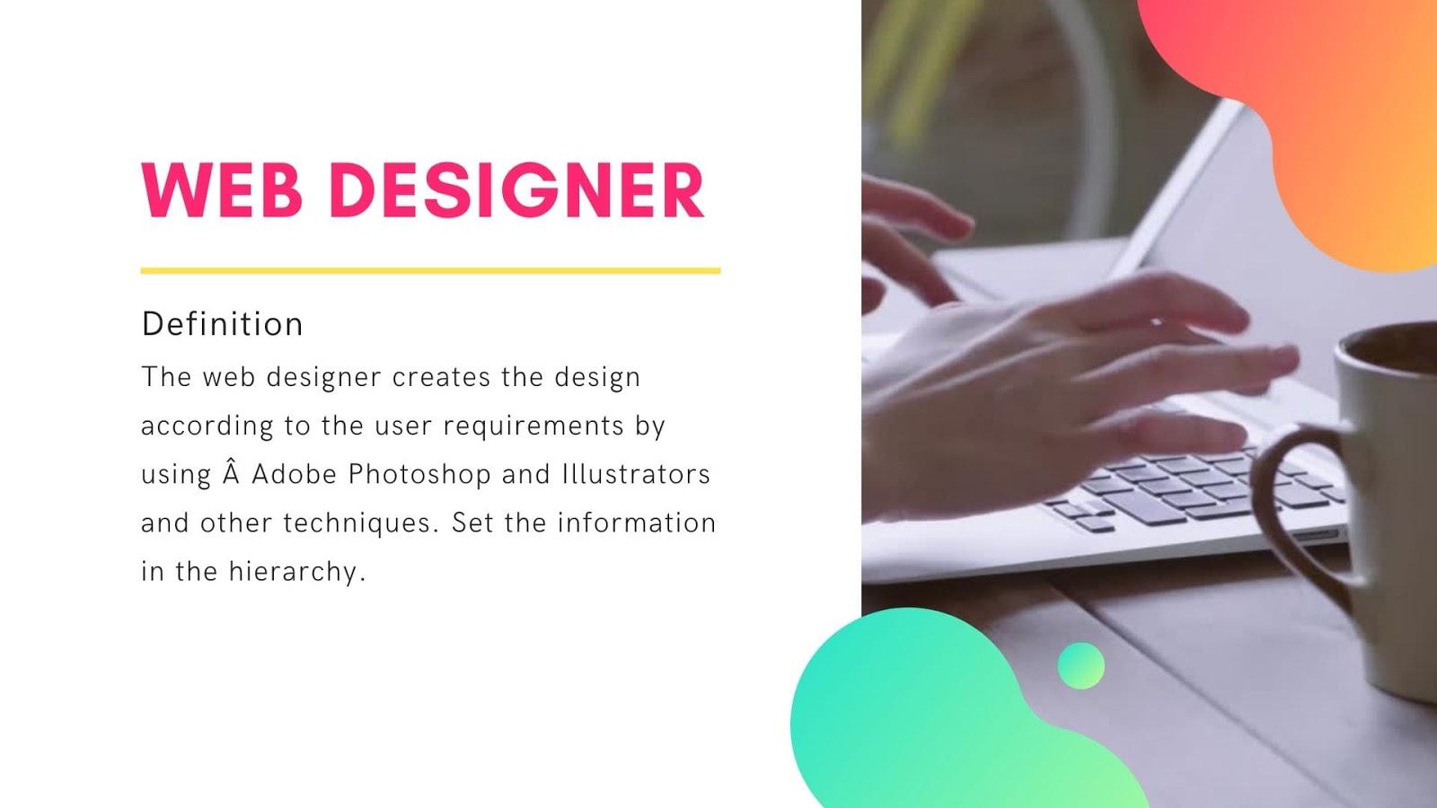What is Web Designer