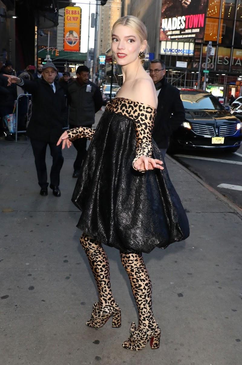 Anya Taylor-Joy Promotes Emma in New York  17 Feb-2020