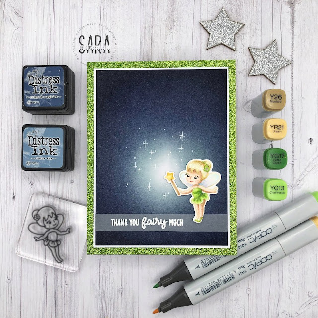 Sunny Studio Stamps: Garden Fairy Everyday Cards by Sara Zoppi
