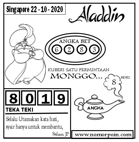 Kode syair Singapore Kamis 22 Oktober 2020 172