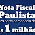 Já estão disponíveis os bilhetes para o sorteio de janeiro da Nota Fiscal Paulista
