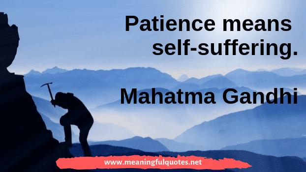 Best Short Patience Quotes