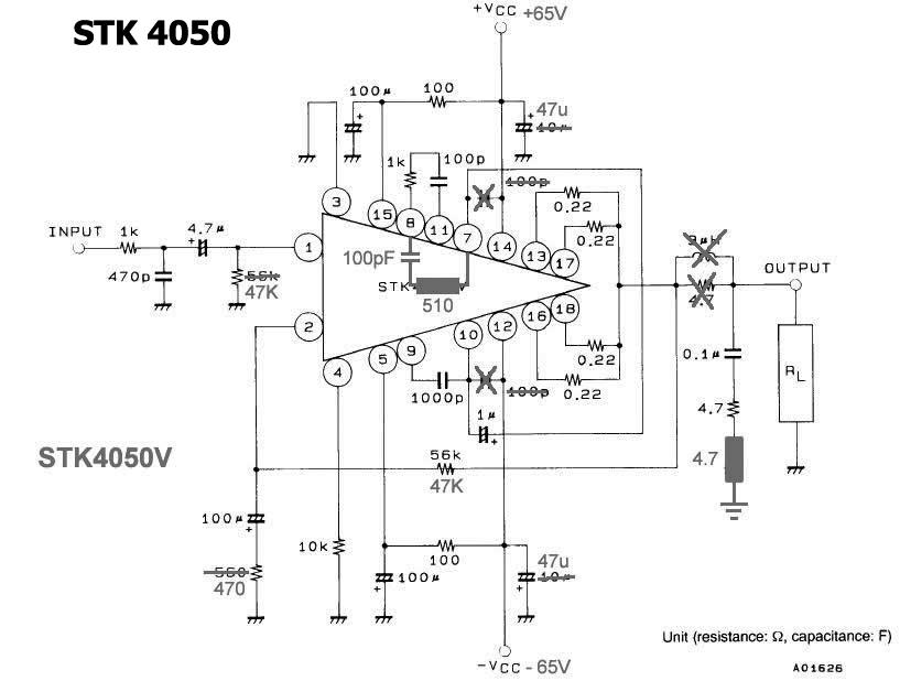 stk4050v power amplifier modification diy circuit rh avecircuits blogspot com Circuit Amplifier Symbol High Voltage Amplifier Circuit