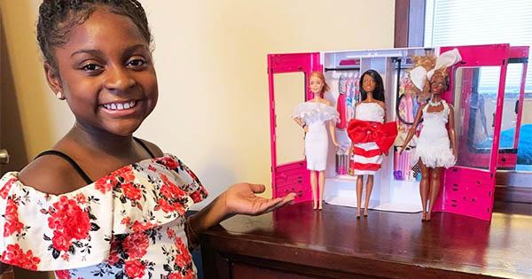 Nevaeh Woods, 9-year old aspiring fashion designer