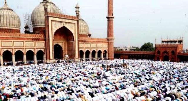 عیدالفطر کی نمازادا کرنے کا طریقہ کار: