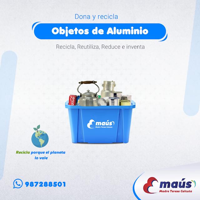 Reciclaje de Aluminio en Lima