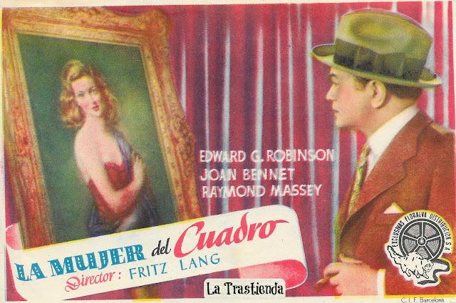 Programa de Cine - La Mujer del Cuadro - Edward G.Robinson - Joan Bennet