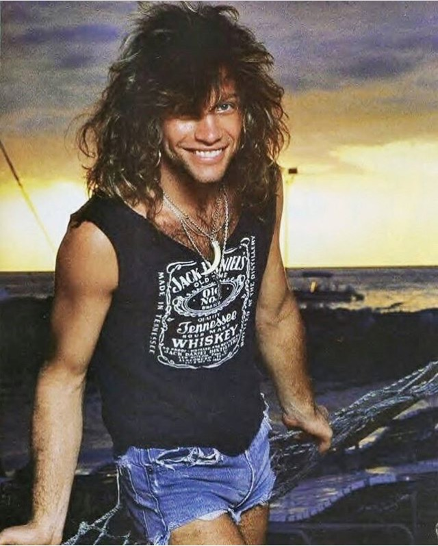Jon Bon Jovi Jack Daniels T-shirt_PYGear.com